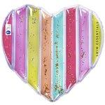 Regenboog hart luchtmatras - Swim Essentials