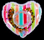 Bekerhouder regenboog hart - Swim Essentials