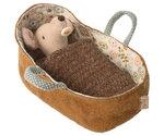 Draagmand baby muis - Maileg