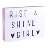 A Little Lovely Company - Lightbox A4 roze_