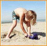 4 in 1 strandspeeltje - Triple Mighty Orange_