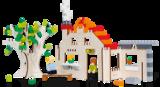 Huis - bouwplaat_