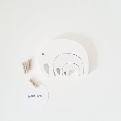 Olifant puzzel - Pinch Toys