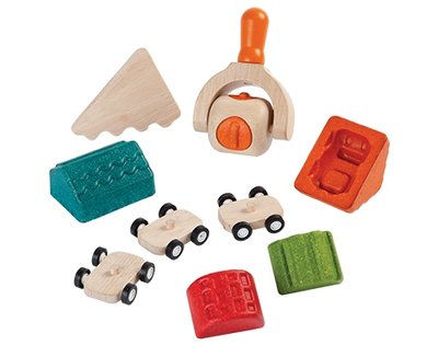 Plan Toys - Build a Town Dough Set