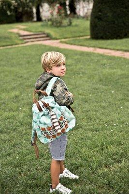 Jeune premier - Backpack Billie - Forest Boys