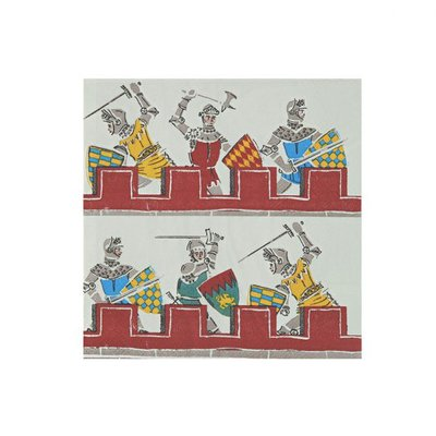 Brave Knights Small Napkins