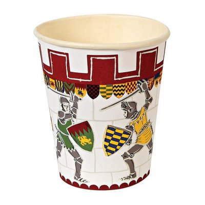 Brave Knights Party Cups