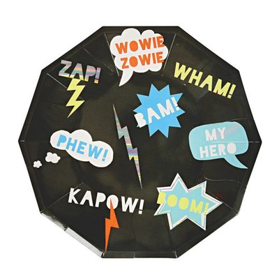 Super Hero Large Plates