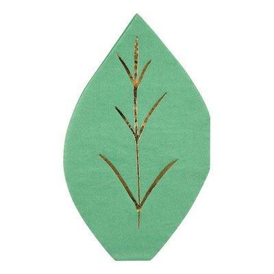 Servetten groen blad - Meri Meri
