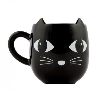 Sass & Belle - Koffietas zwarte kat