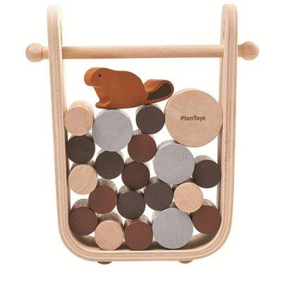 Plan Toys - Timber Tumble spel