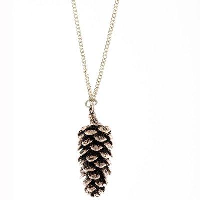 Lange halsketting dennenappel - Timi of Sweden