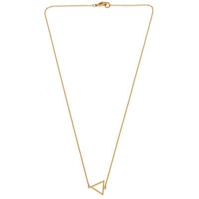 Ketting - driehoek goud