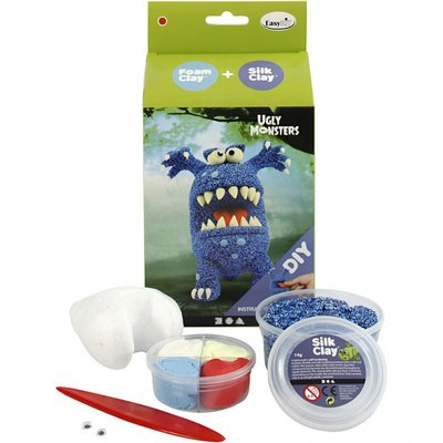 DIY Kit - Ugly Monster blauw