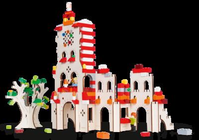 Toren - bouwplaat