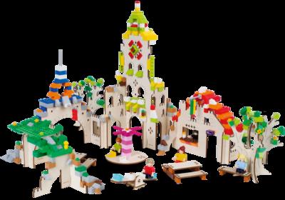 Stad - bouwplaat