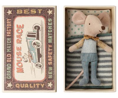 Kleine broer muis in doosje - Maileg