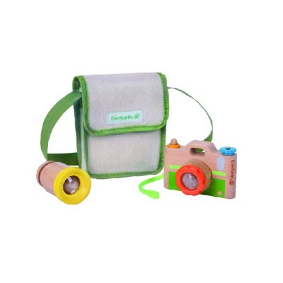 Houten kid's camera - EverEarth