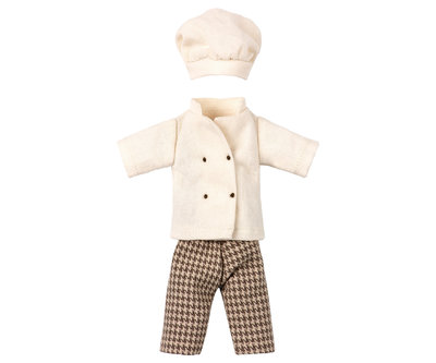 Chef kok outfit voor mama/papa-muis - Maileg