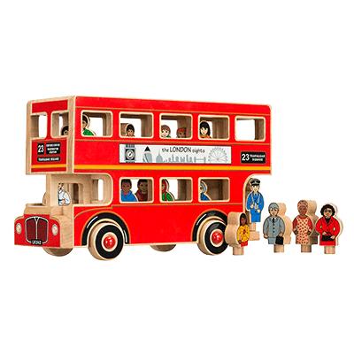 Luxe Londen bus - Lanka Kade