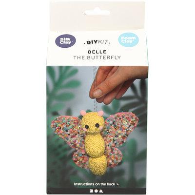 Knutselpakket Foam & Silk Clay Belle de vlinder boetseren - Creativ Company