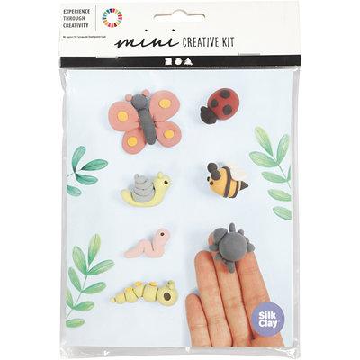 Knutselpakket Silk Clay insecten boetseren - Creativ Company