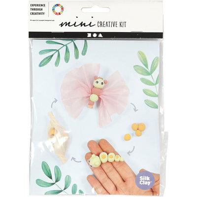 Knutselpakket Silk Clay levenscyclus vlinder boetseren - Creativ Company