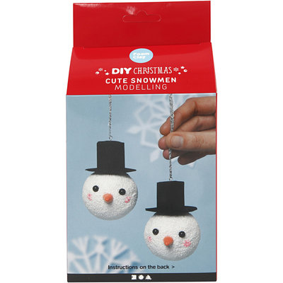 Knutselpakket Foam Clay Schattige sneeuwpoppen - Creativ Company