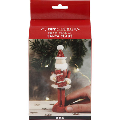 Knutselpakket Houten kerstman - Creativ Company