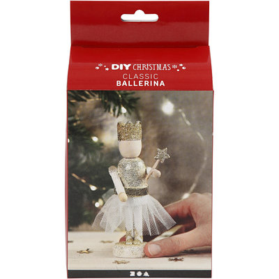 Knutselpakket Houten ballerina - Creativ Company