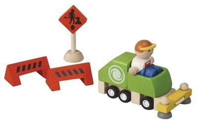Straat vegers set - Plan Toys