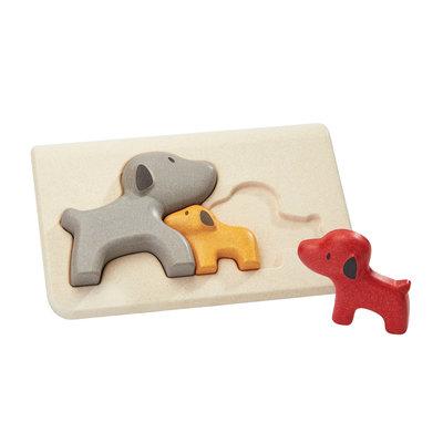 Puzzel hond- Plan Toys