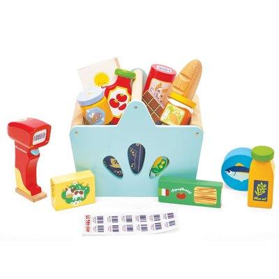 Boodschappen set met scanner Honeybake - Le Toy Van