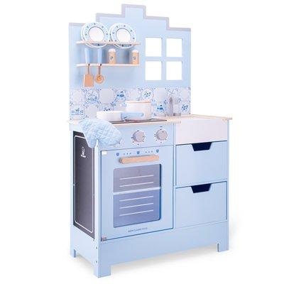 Kinderkeuken Delfts blauw - New Classic Toys