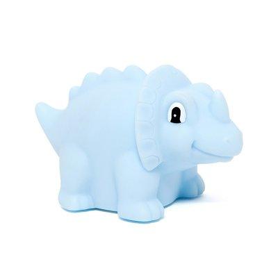 Nachtlamp dino Triceratops - Blauw - Petit Monkey