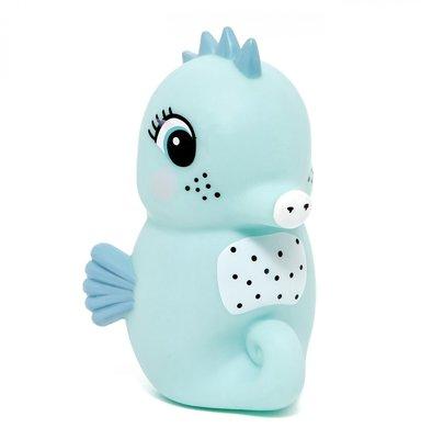 Nachtlamp zeepaard - blauw - Petit Monkey
