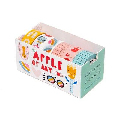 Washi Tape Apple of my eye - Petit Monkey