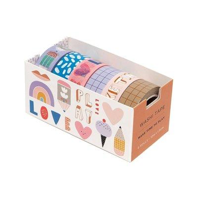 Washi Tape Make time to play - Petit Monkey