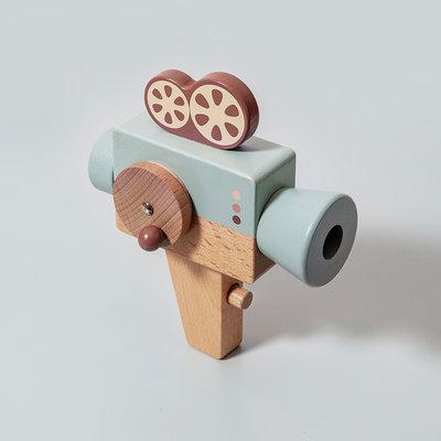 Houten filmcamera - Petit Monkey