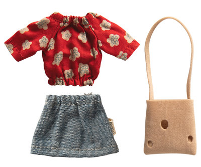 Zomerse outfit voor mama-muis - Maileg