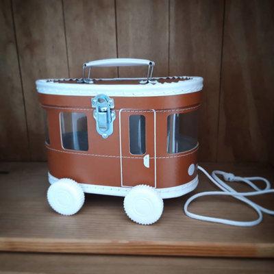 Speelkoffertje Tram bruin - O'That