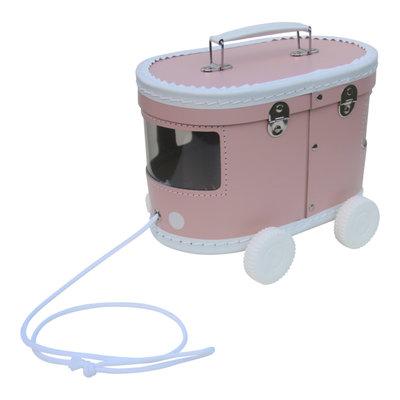 Speelkoffertje Tram roze - O'That