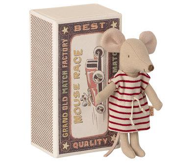 Grote zus muis in luciferdoosje - Maileg
