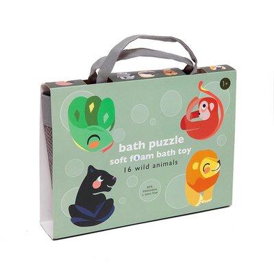 Bad puzzel wilde dieren - Petit Monkey