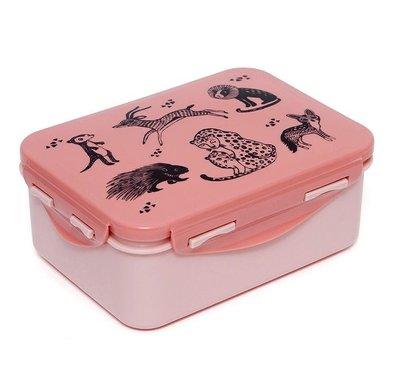 Brooddoos dieren roze - Petit Monkey