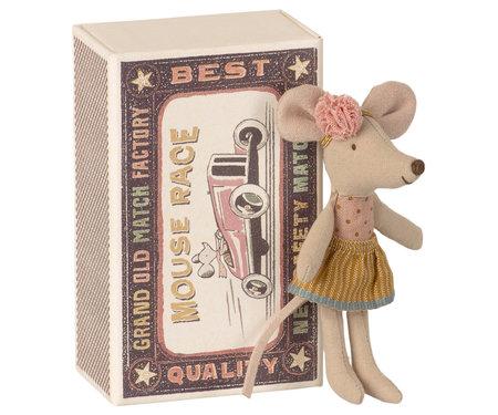Klein zusje muis in luciferdoosje - Maileg