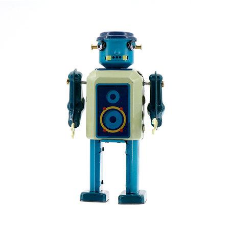Vinyl Robot - Mr & Mrs Tin