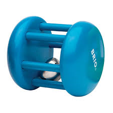 BRIO Rammelaar blauw