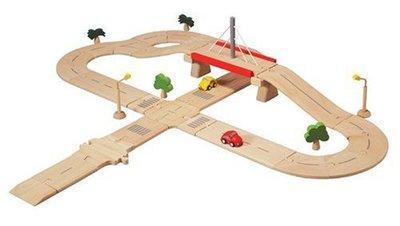 Wegenset - Plan Toys