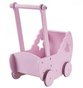 Poppenwagen roze - Kid's concept